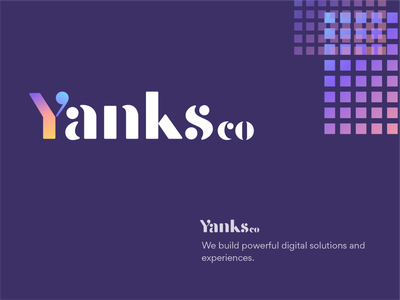 Yanksco   Logo Design visualstyle vector ui logotype gradient logo top logo 2021 text logo design letter logo design y letter logo logodesign badrrehman yankscologo yanskco branding brandidentity