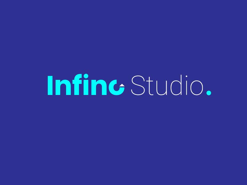 Infino Studio Logo Design brand art book logo studio logo designstudio illustration art artstudio badrrehman visualstyle vectorart branding illustrator brandidentity