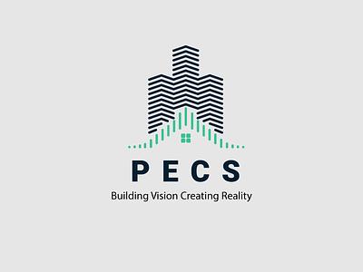 PECS Branding Design architecture logo design architectural design logotemplates brand designer brand and identity brand agency badrrehman typography branding brand logo brandidentity branding design logo branding