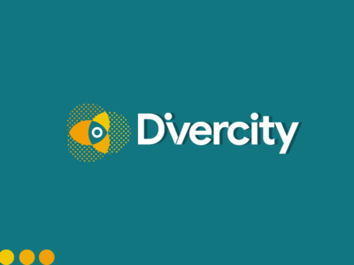 Divercity - Logo Design cartoon ux app ui animation after effects visualstyle 2d animation animation typography design icon vector animation 2d photoshop brand vectorart illustrator logo brandidentity branding