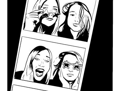 BFFs star sunnies photobooth comics cartoon
