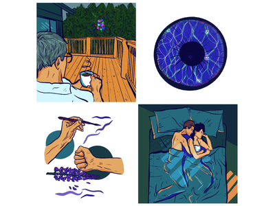 Yuba Illustrations comics story illustration