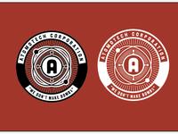 Atomotech corp t-shirt badge