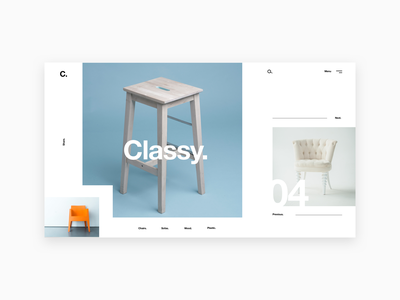 Template___5 Classy trendy deco home shop ecommerce modern minimal classy layout furniture landing page