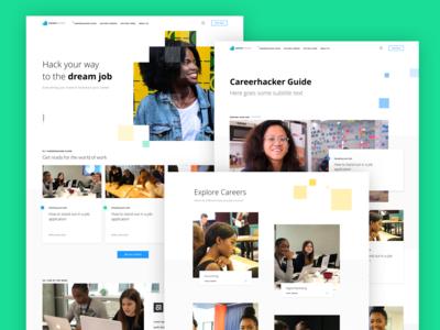 CareerHacker Website