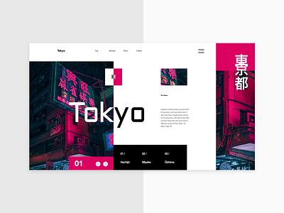 Template___02 Tokyo hero japan golden grid layout city tokyo