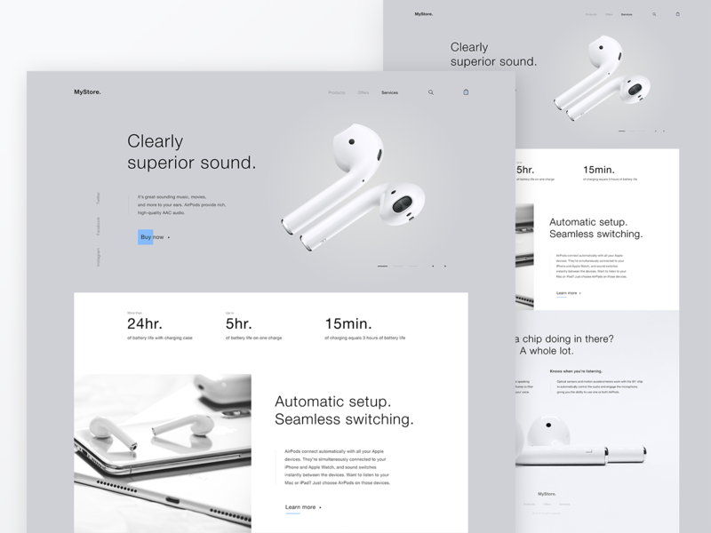Airpods icon vector typography airpods landingpage design branding web app appdesign melart photoshop figma ux uitrends uidesigner uidesign ui dribbble webdesign