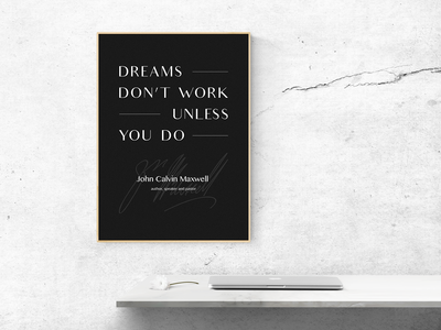 Dreams don't work...