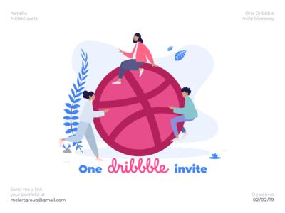 1x Dribbble Invites Available