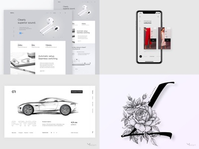 My #Top4Shots on Dribbble from 2018