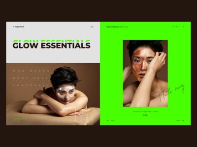 VeganMask. Glow Essentials.