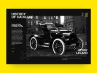 Retro Car. History Of Cadillac