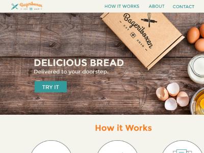 Bageriboxen Website