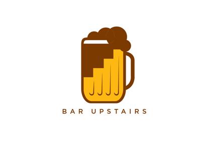 Barupstairs 400x300 graphic design logo identity branding