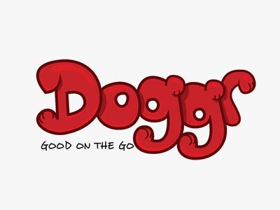 Doggr branding graphic design typography type illustration color logo