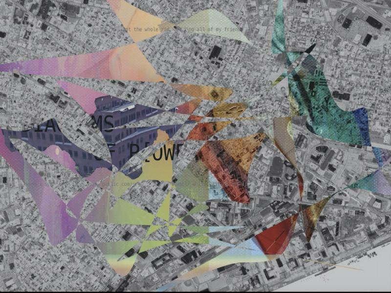 Queer Space .4 gis cambridge abstract maps urban design collage cartography