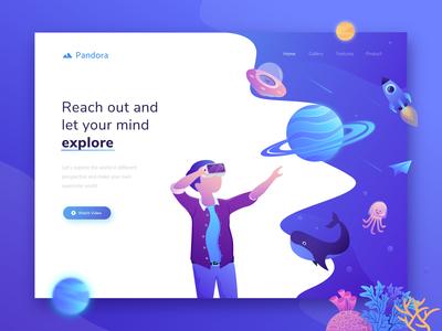 Pandora - Header Illustration