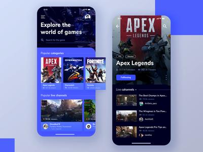 Game Streaming App