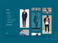 UI Challenge Day 18 - Looks Men's fashion
