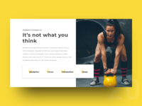 UI Challenge Day 20 - Benefits of Working Out