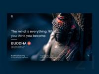 UI Challenge Day 21 - Buddha's Teaching