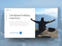 UI Challenge Day 24 - My Trekking Trip