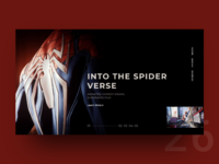 UI Challenge Day 26 - Spider Man