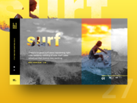UI Challenge Day 27 - Surf
