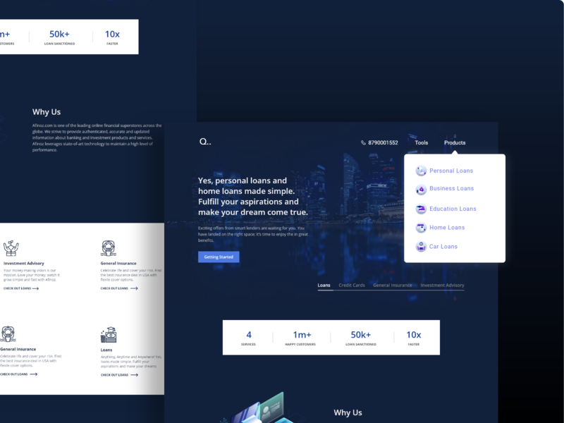Consulting firm website shot 05/50 concept landing web dark sketch xd business firm consulting design agency design