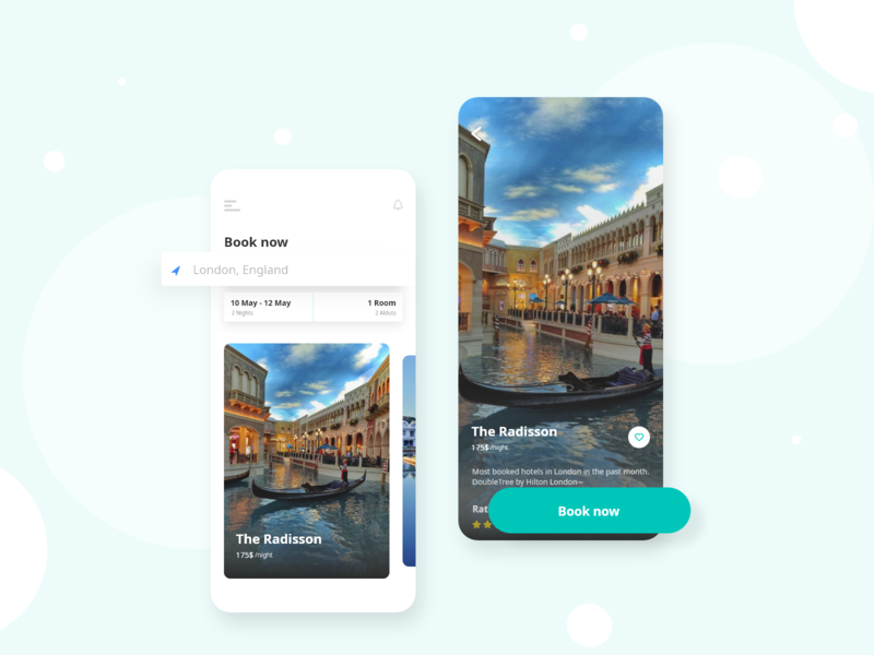 Booking app booking hotel art abstract clean color concept dailyui clean app design design design app flat flatdesign interface minimal green task typography free ui pack
