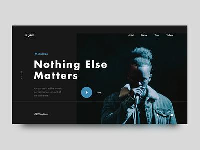 Kiyoto III typography flatdesign design color web abstract flat minimal ux ui layout clean black