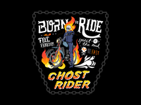 Born to ride Aka Ghost Rider