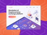 Clok | Homepage Design
