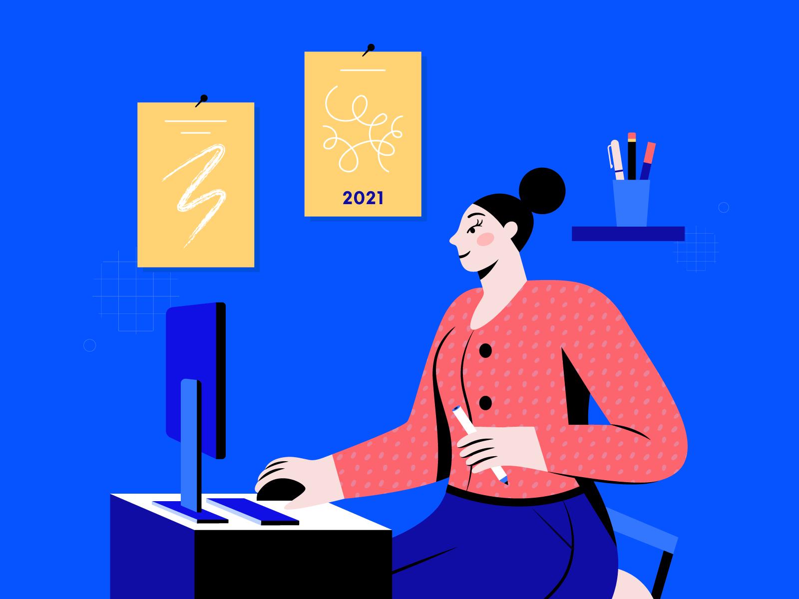 Digital Creative In 2021 Illustration