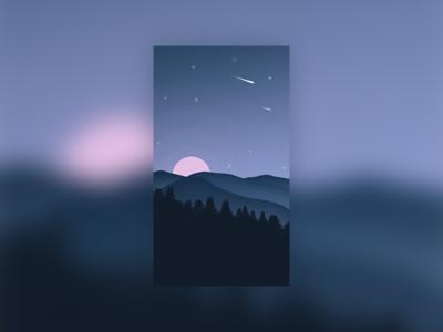 插图-晚上