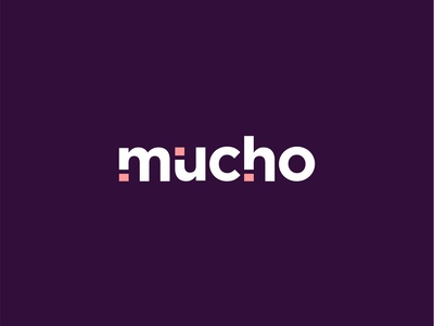 Mucho | Coffee Branding logotype logo design brand identity design brand design minimal design logo branding