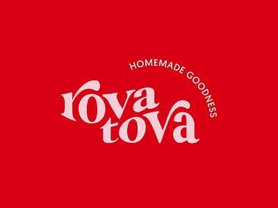 Branding for RovaTova brand identity design design brand design minimal logos logo design brand branding wordmark logotype typeface typography logo