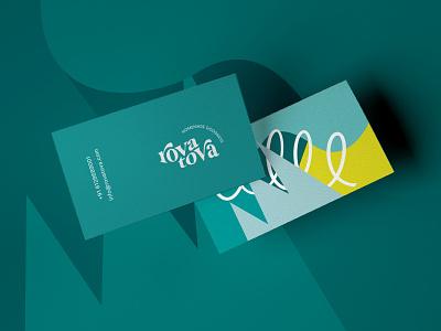 Business Card for RovaTova visiting card business card business card design clean design vector typography brand identity design brand design minimal logo branding