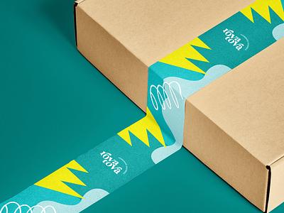 Sleeve Design for RovaTova! abstract logo minimal branding illustration vector logo design brand design design brand identity design