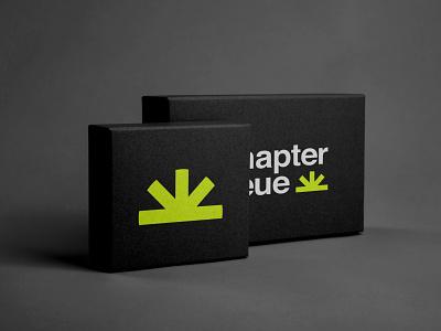 Chapter Neue Packaging neon logo design black packaging design packaging brand design logo branding minimal brand identity design