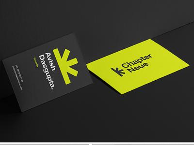 Chapter Neue Business Cards logo design brand identity design design brand design minimal logo branding cards visiting cards business cards