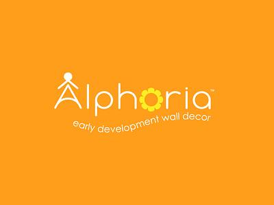 Alphoria icon design illustration vector branding logo logo design kids art kids illustration kids logo