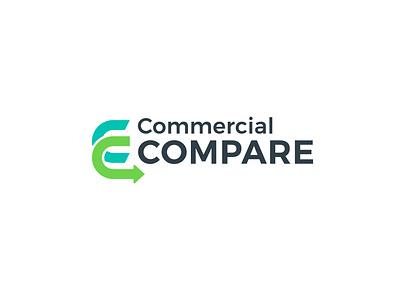 Commercial Compare Logo financial logo illustration vector logo logo design c letter logo
