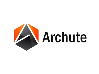 Archutre a letter logo abstract modern