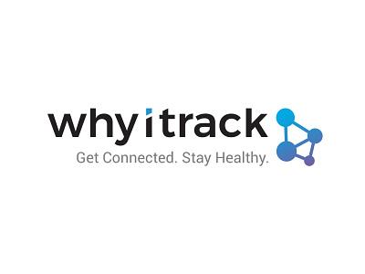 WhyITrack design branding illustration vector logo logo design typography connecting logo tech logo