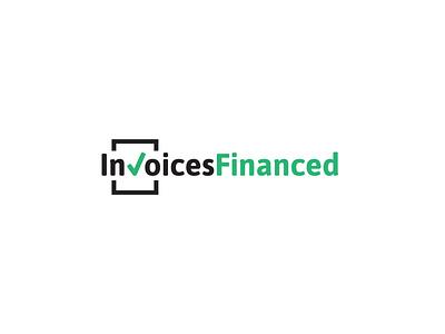 invoices financed finance app invoice logo finance logo design branding illustration vector logo logo design