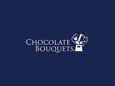 choc boq chocolate logo chocolate typography abstract design branding illustration vector logo logo design