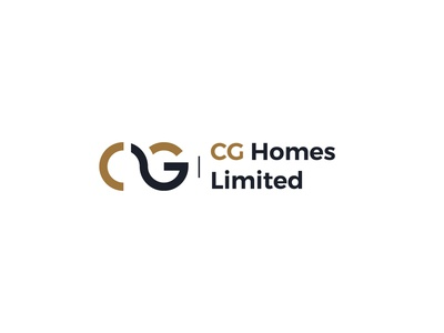CG homes abstract logo a letter logo typography abstract design branding illustration vector logo logo design