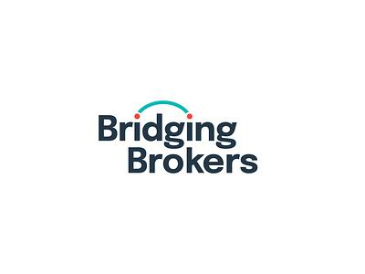 Brdging Brockers abstract logo icon a letter logo typography abstract design branding illustration vector logo design