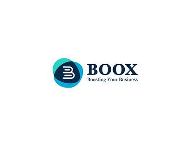 boox book book logo typography abstract design illustration logo design